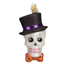 top hat skeleton ornament callisters
