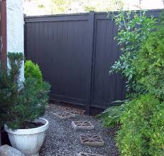 inspiration black wooden fences black fence fence and fences