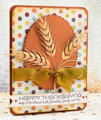 33 best cards w io wheat die images on fall cards
