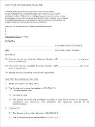 35 free service agreement templates pdf word format creative