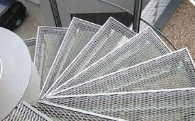 metal stair treads niles expanded metals