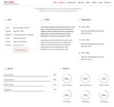 Online Resume Website by 7 Creative Resume Ideas To Stand Out Online