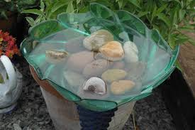 bird bath projects for summer garden decor