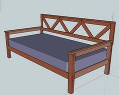 pull out daybed plans home diy ideas pinterest daybeds