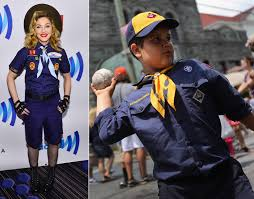 Boy Scout Halloween Costume Miley Cyrus Lady Gaga Stars U0027re Dressed