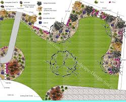 big front yard in a cul de sac this is a really cool design that