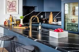 white kitchen cabinets and black quartz countertops 17 beautiful quartz kitchen countertops
