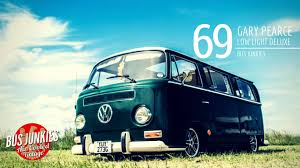 volkswagen light blue gary pearce u0027s 1969 low light deluxe bus junkies featured fan rides