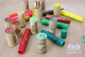 wine cork christmas tree with faber castell joy u0027s life