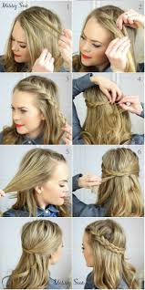 hairstyles easy to do for medium length hair ideas about how to do hairstyle for medium length hair cute