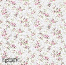 tapeten vintage 23 285139 petite fleur 3 rasch textil rosa blumen papiertapete