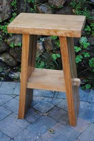 decorating immaculate furniture rustic brown polished teak wood