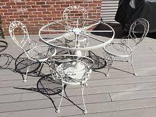 wrought iron patio ottoman woodard wrought iron ottoman patio chair ebay