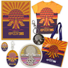 Epcot World Showcase Map Begin To Dream With Retro Inspired Merchandise For 35th