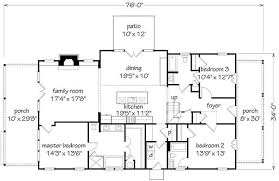All In The Family House Floor Plan Longleaf Cottage Southern Living House Plans