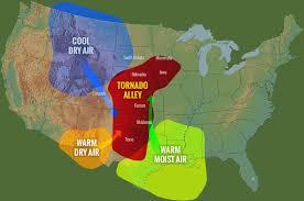 tornado map tornadoes spinning thunderstorms