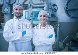 food processing quality control technician food processing equipment stock images royalty free images