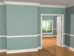 Colonial Trim by Chair Rail Ideas For Dining Room Houses In Colonial Molding
