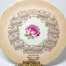 Shabby Chic Plates by Just Listed On Bellarosaantiques Com Beautiful Victorian Rose Vase