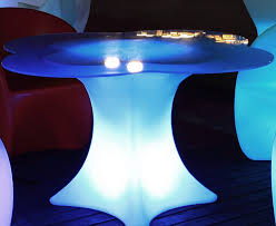 patio style online led lighted furniture