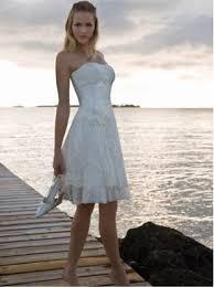 summer lace organza short dress for beach weddings newest