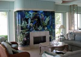 modern soft blue wall can be decor with warm fireplace can add the