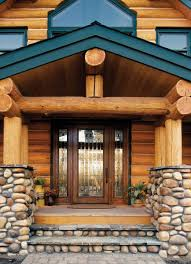 wood and glass exterior doors a beautiful cabin entryway product jeld wen custom wood glass