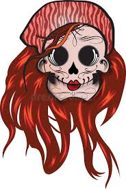 day of the dead sugar skull stock vector illustration of