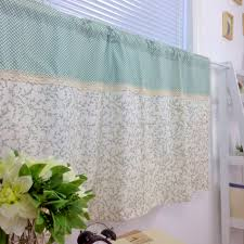 Teal Kitchen Curtains by Popular Fabric Kitchen Curtains Buy Cheap Fabric Kitchen Curtains