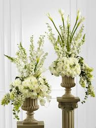 white floral arrangements 307 best classic white and green flowers images on