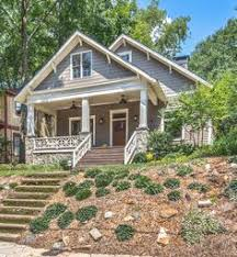 Craftsman Style Bungalow Renovated Craftsman Style Bungalow In Inman Park Hits The Market