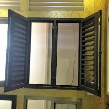 aluminum wooden color jalousie casement window beautiful
