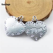 s day pendants graceangie heart shape letter carved jewelry charms