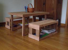 childrens bench and table set benches made from pallets children s table and benches made from
