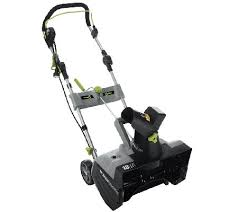 snow blowers black friday earthwise 13 5 amp electric snow blower w 18