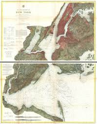 File Map Of New York File 1874 U S Coast Survey Map Of New York City Bay And Harbor