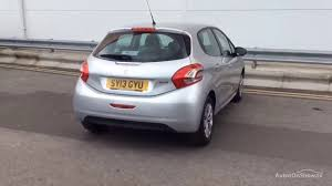 peugeot silver peugeot 208 access plus silver 2013 sy13gyu youtube