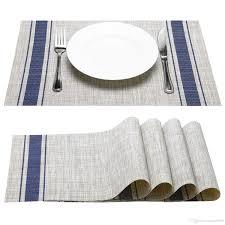large plastic table mats beautiful placemat fashion european style pvc placemat non slip