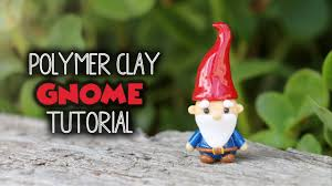 Garden Nome by Garden Gnome Polymer Clay Tutorial Youtube