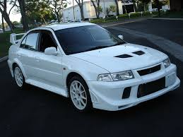 mitsubishi evo white file mitsubishi lancer evolution vi jpg wikimedia commons