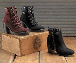 womens wide winter boots canada casual motorcycle boots shoes harley davidson footwear