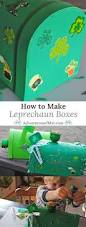 how to make st patrick u0027s day leprechaun boxes with your kids