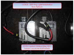 hid fog light ballast hid fog light installation gen ii