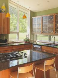 upper kitchen cabinets with glass doors playing with form a nelson county house makes room for func ville