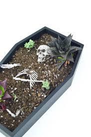 Halloween Decorations Coffin Halloween Diy Coffin Table Planter Revamperate
