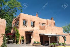 modern restaurant in santa fe new mexico stock photo picture