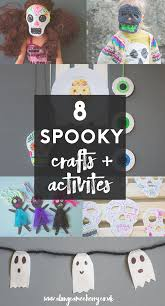 8 super spooky crafts for halloween day of the dead