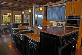 Black Kitchen Cabinets by Tips To Create Distressed Black Kitchen Cabinets