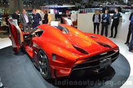 koenigsegg orange koenigsegg regera rear three quarter at the 2016 geneva motor show