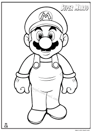 super mario coloring pages 08
